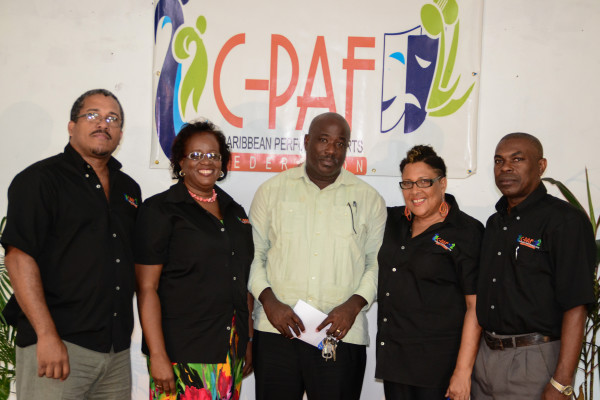 Caribbean Performing Arts Federation (C-PAF) launched in St. Lucia on Wednesday August 27th, 2014. 5