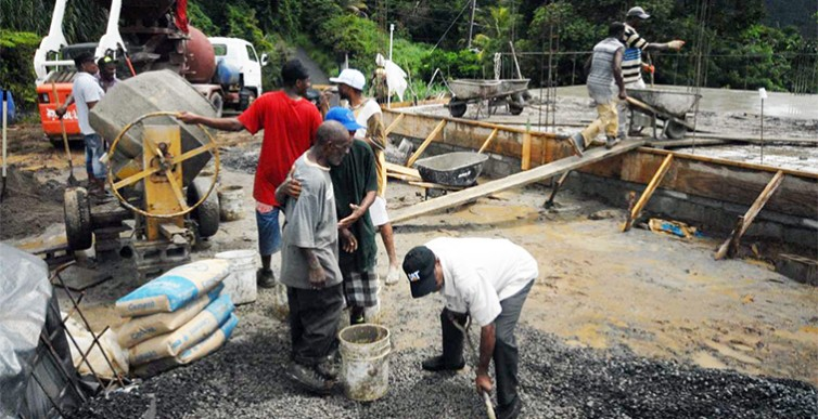 Dominica'S Parliamentary Representative for Roseau South happy with progress at Giraudel 1