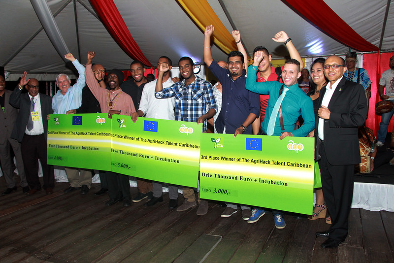 Young Jamaican team wins AgriHack Talent Caribbean contest at 13th Caribbean Week of Agriculture 6