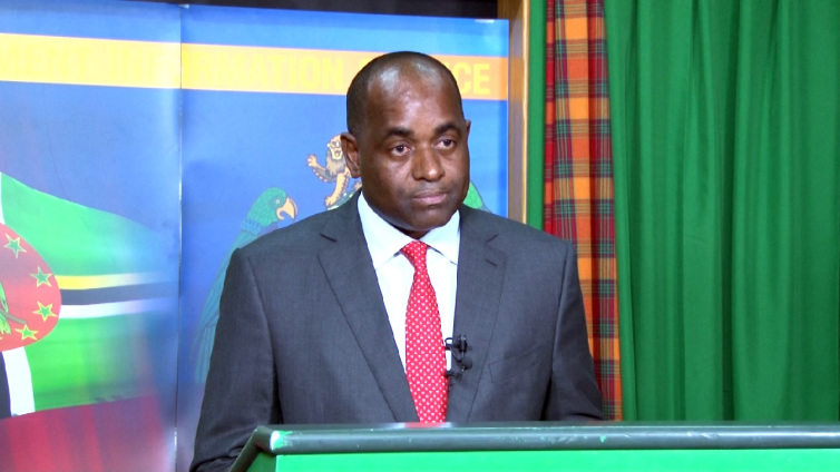 Prime Minister of Dominica the Honourable Roosevelt Skerrit