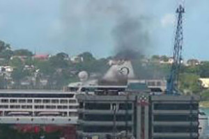 Three dead following cruise ship fire in St Lucia port