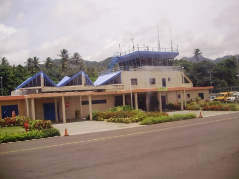 Arson suspected in fire near Dominica's airport