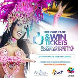 WIN A TRIP to Antigua and Barbuda the Caribbean's Greatest Summer Festival 2