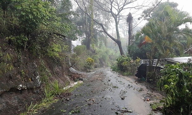Tropical Storm Erika pounded Dominica