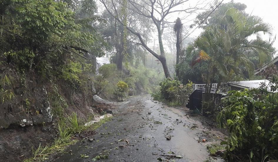 erika destruction on Dominica