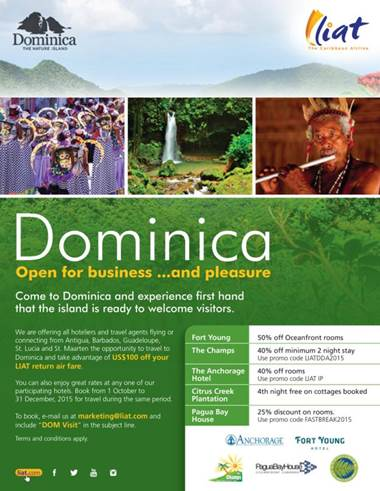 Dominica's tourism sector ready to welcome visitors 2