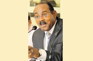 Antigua Prime Minister Gaston Browne