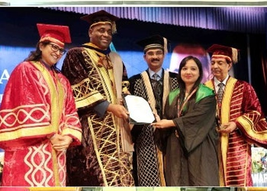 Dominica PM attends Convocation of LPU