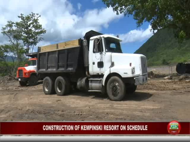 GIS Dominica Special Report: Construction of Cabrits Resort Kempinksi on Schedule 1