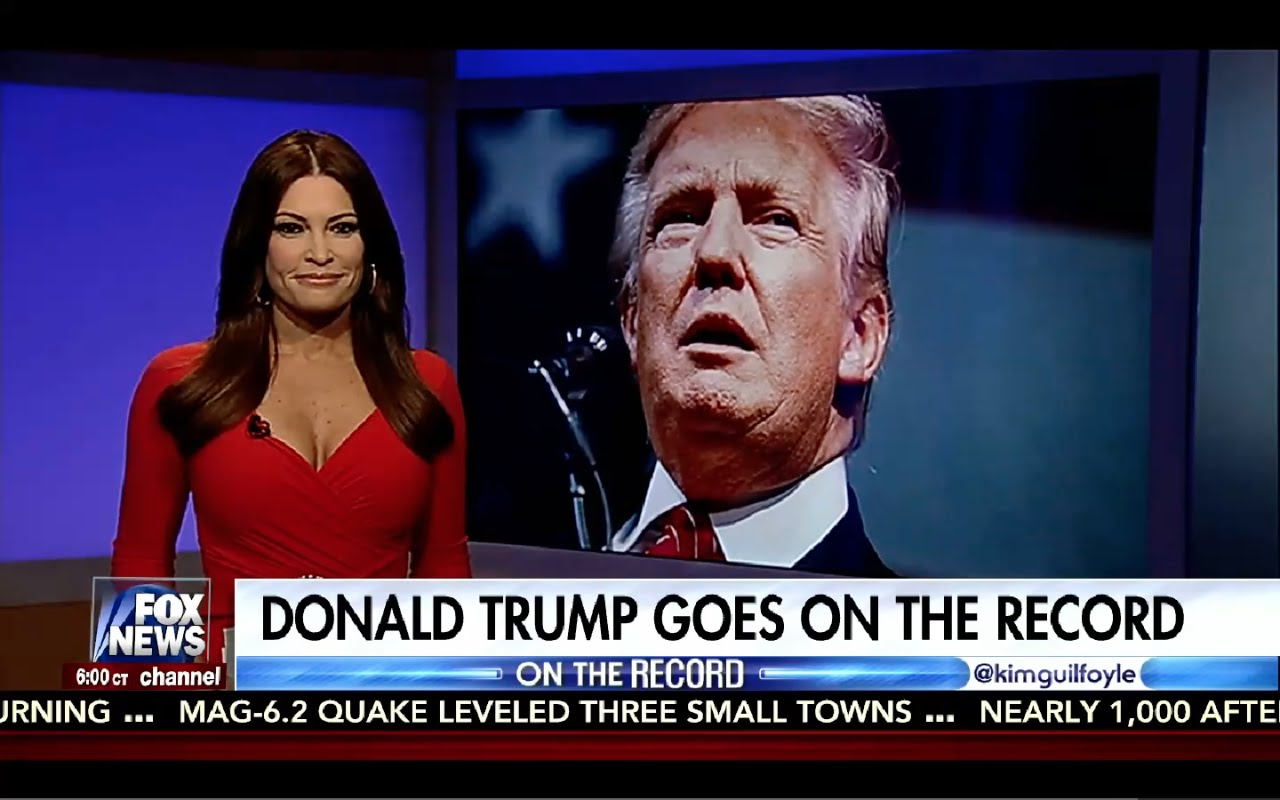 Donald Trump Interview with Kimberly Guilfoyle 8/26/16 5
