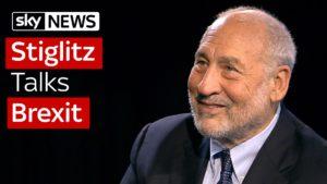 Professor Joseph Stiglitz Talks Brexit 8