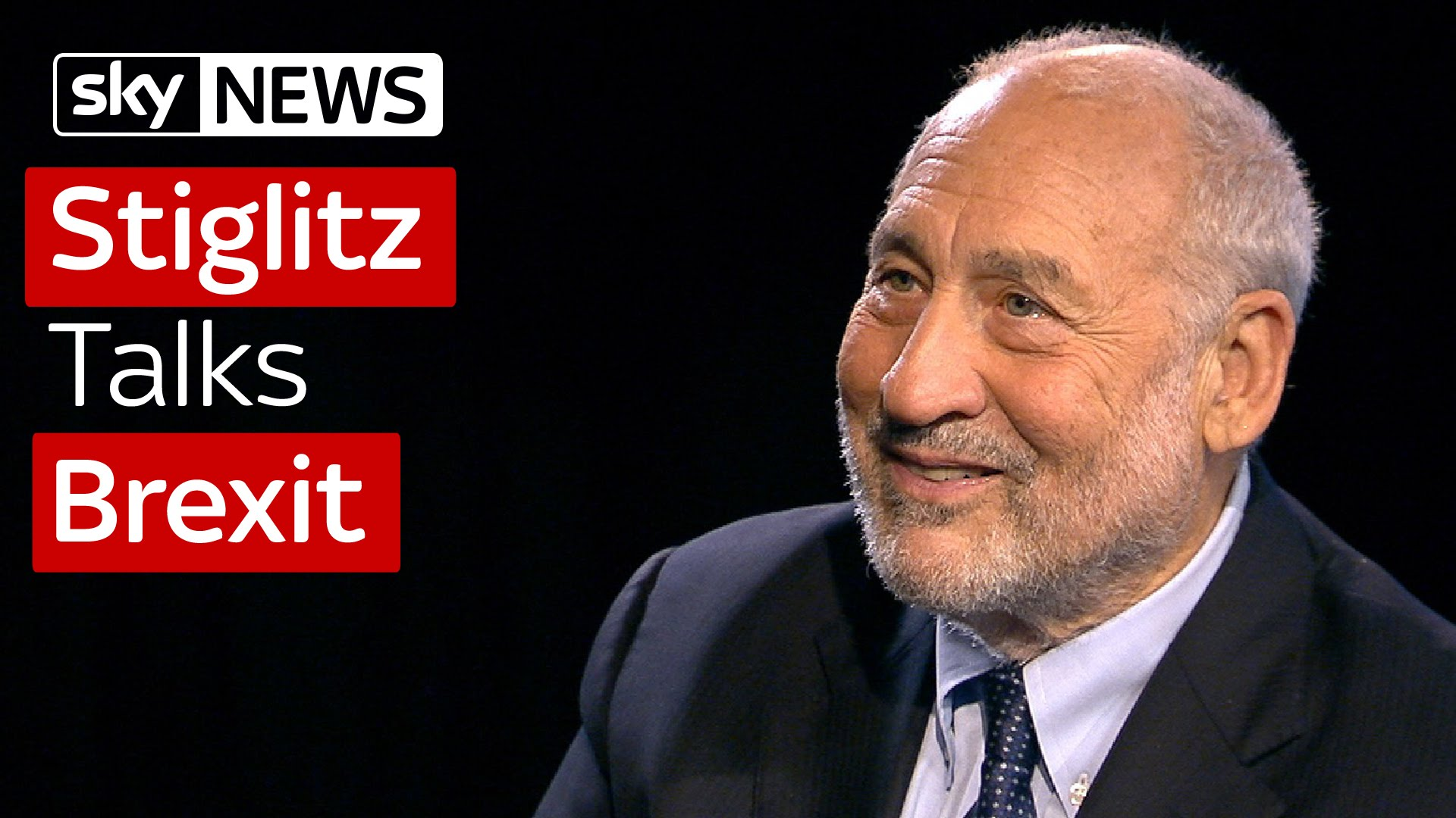 Professor Joseph Stiglitz Talks Brexit 2