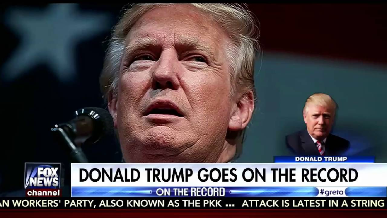 On the Record 8/26/16 Full: Donald Trump Interview, Trump Immigration Plan 9