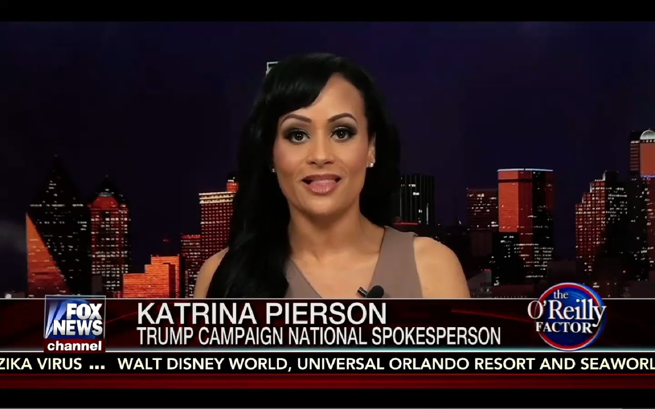 O'Reilly Factor 8/29/16 Full: Katrina Pierson Interview, Corrupt State Department Cover Up 9