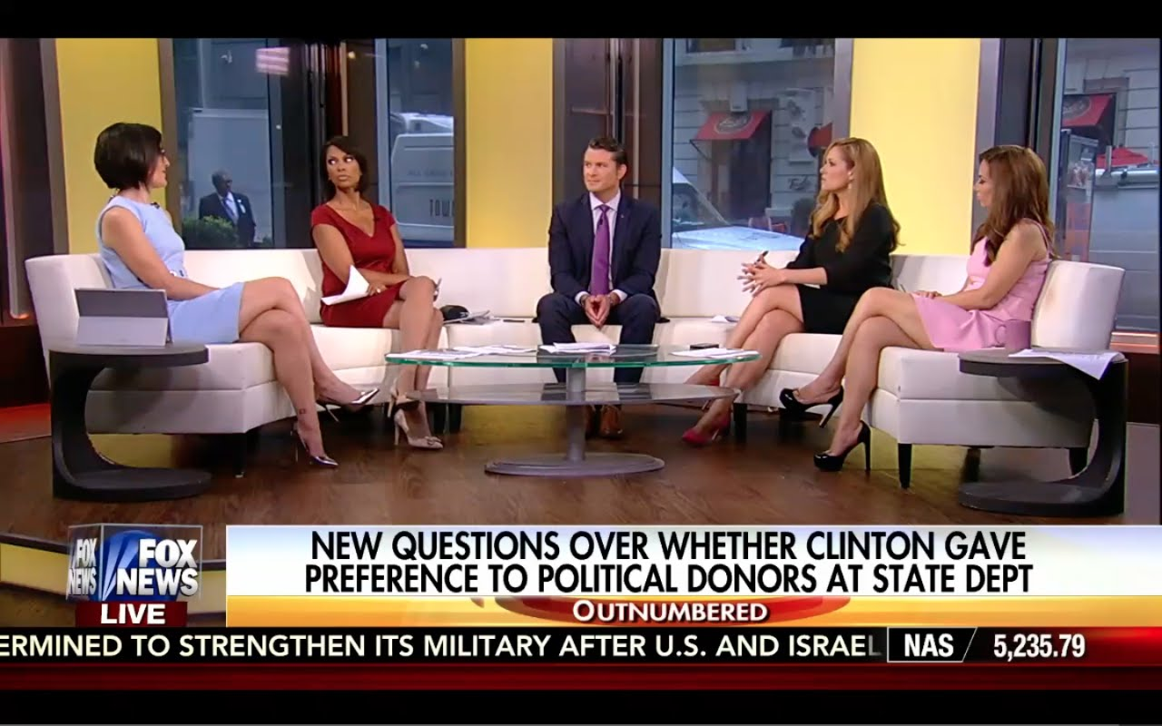 Outnumbered 9/21/16 Full: New Hillary Pay to Play Info! Hillary Gave 194 Donors State Dept Jobs! 1