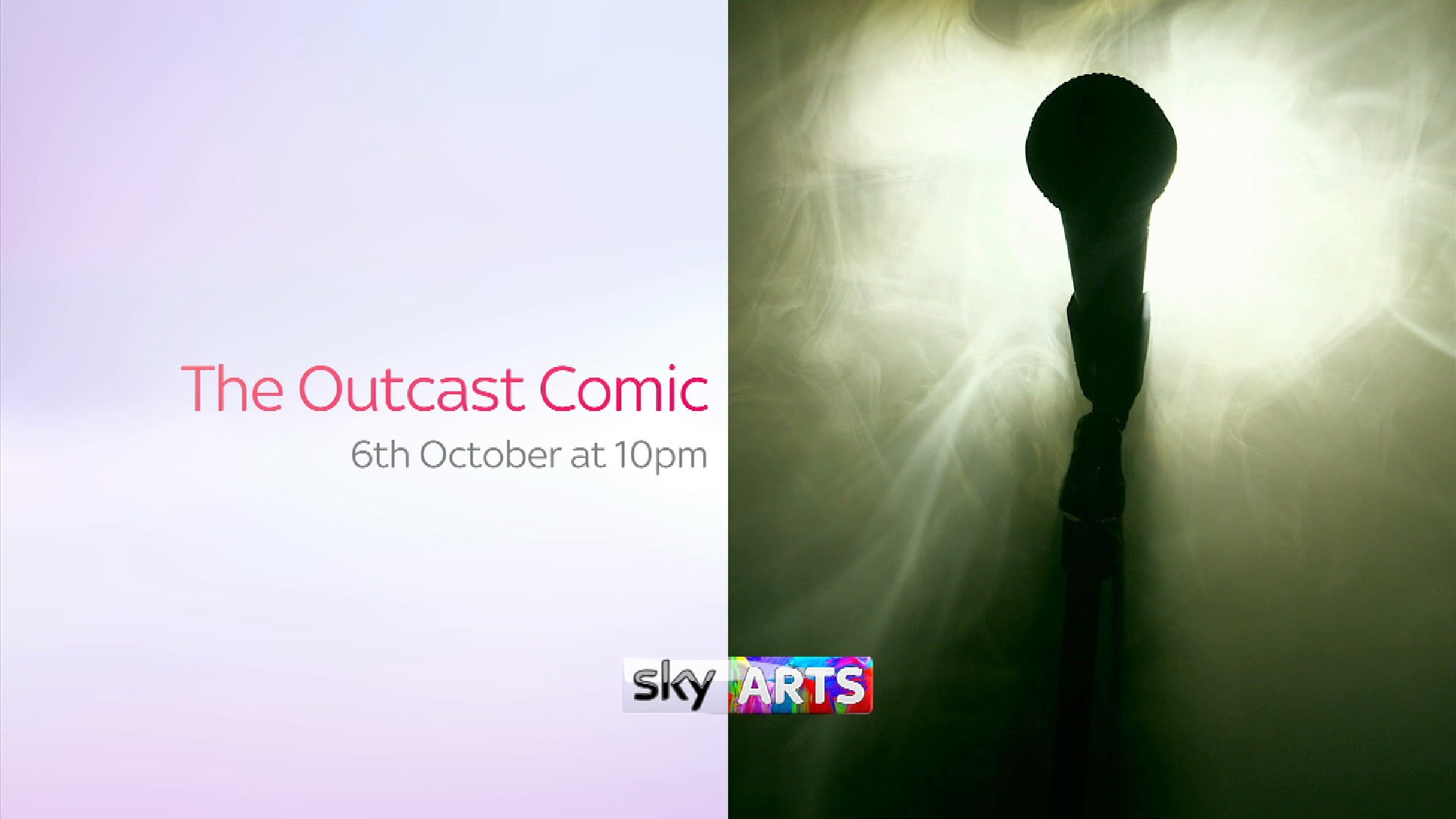 The Outcast Comic | 6th October at 10pm 2