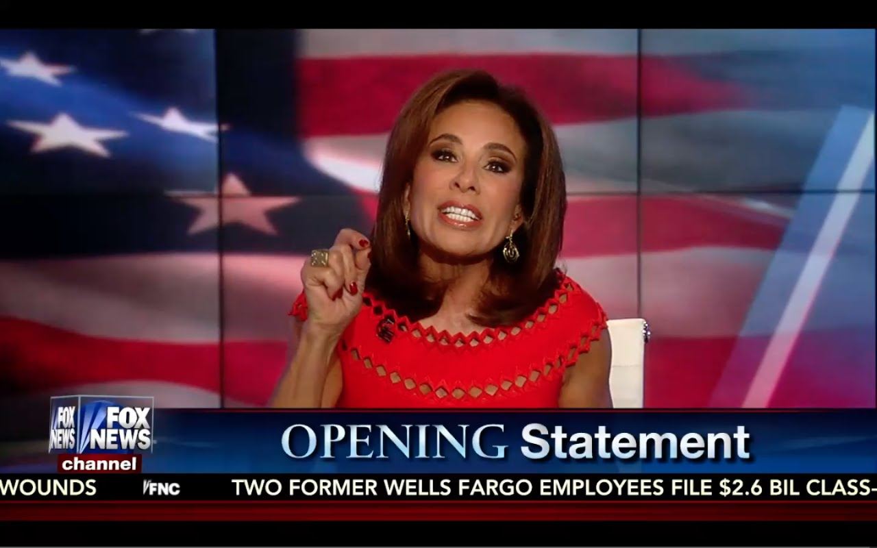 Donald Trump Needs to ATTACK Hillary Clinton at 1st Debate! Judge Jeanine Opening Statement 9/24/16 5