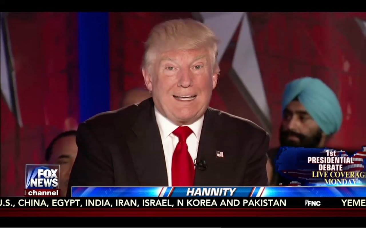 Hannity Town Hall w/ Donald Trump 9/23/16: Fox News 8
