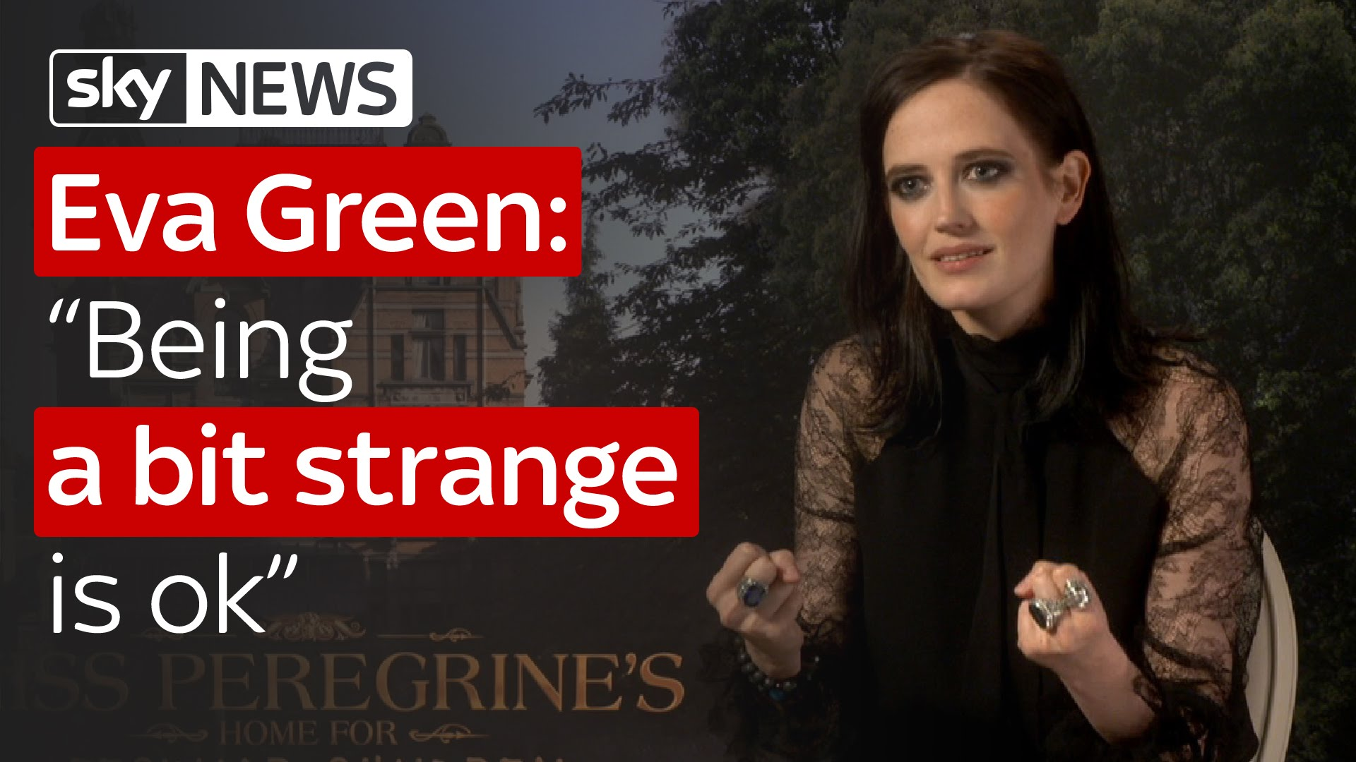 "Eva Green: ""Being a bit strange is ok"" 9"