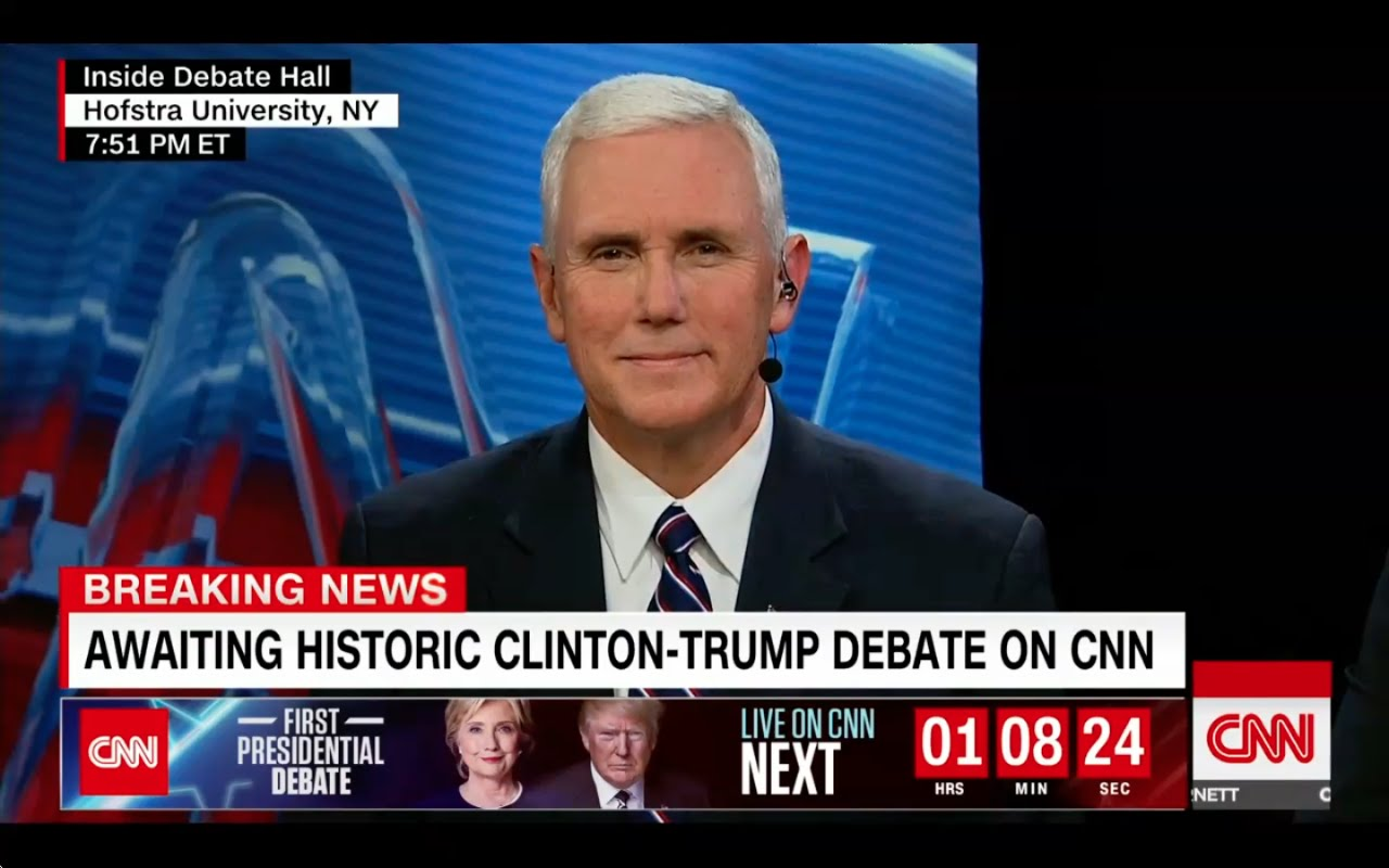Mike Pence Interview 9/26/16: Trump and the Debates 4