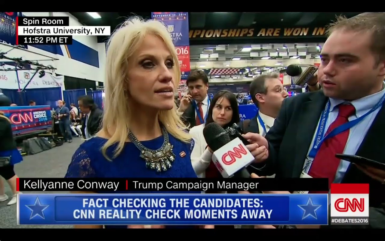 Donald Trump Campaign Manager Interview after Presidential Debate 9/26/16 8