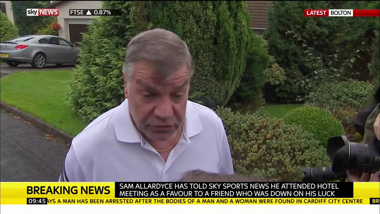 Sam Allardyce speaks after resigning as England manager 4