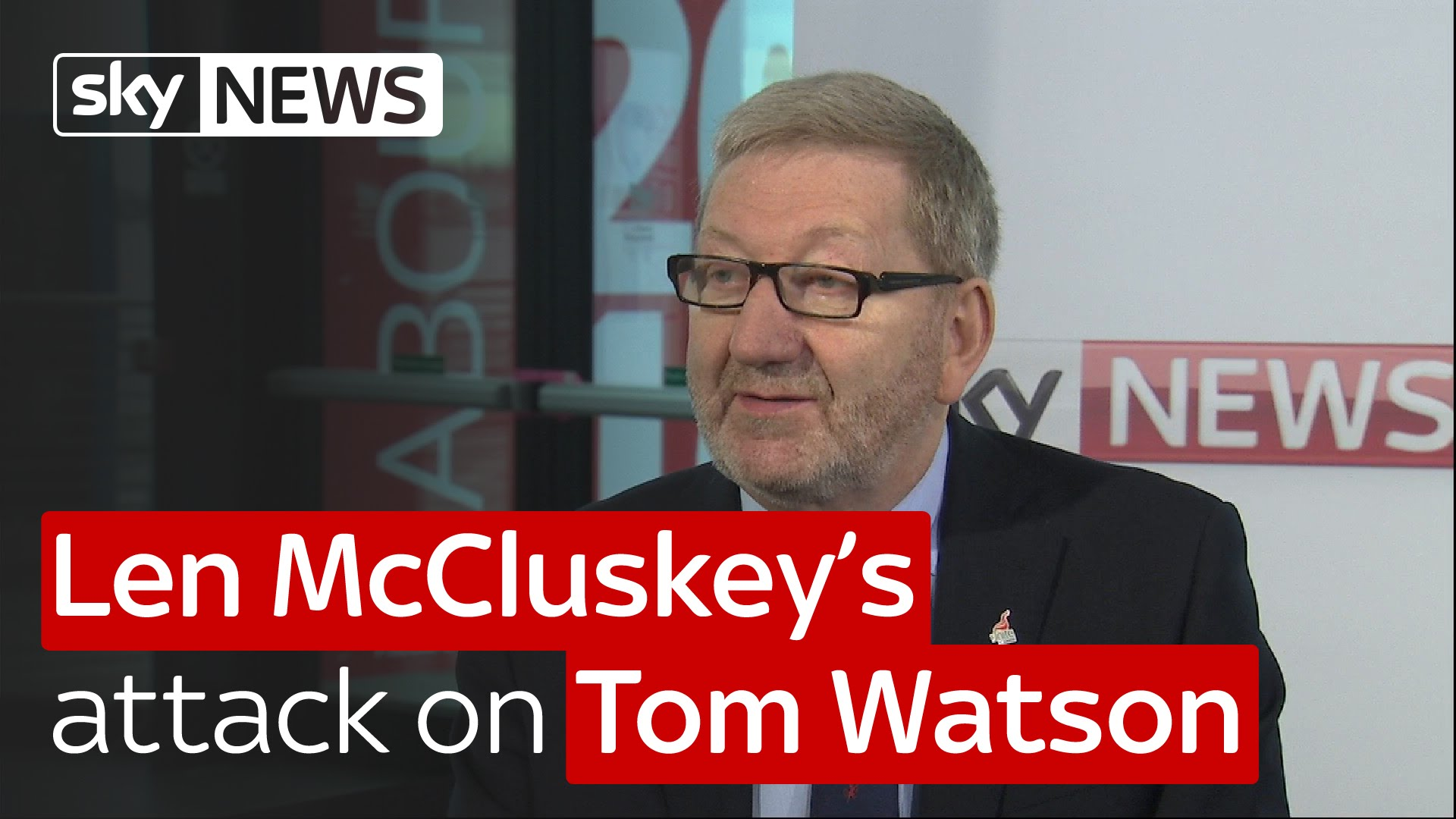 Len McCluskey's attack on Tom Watson 13