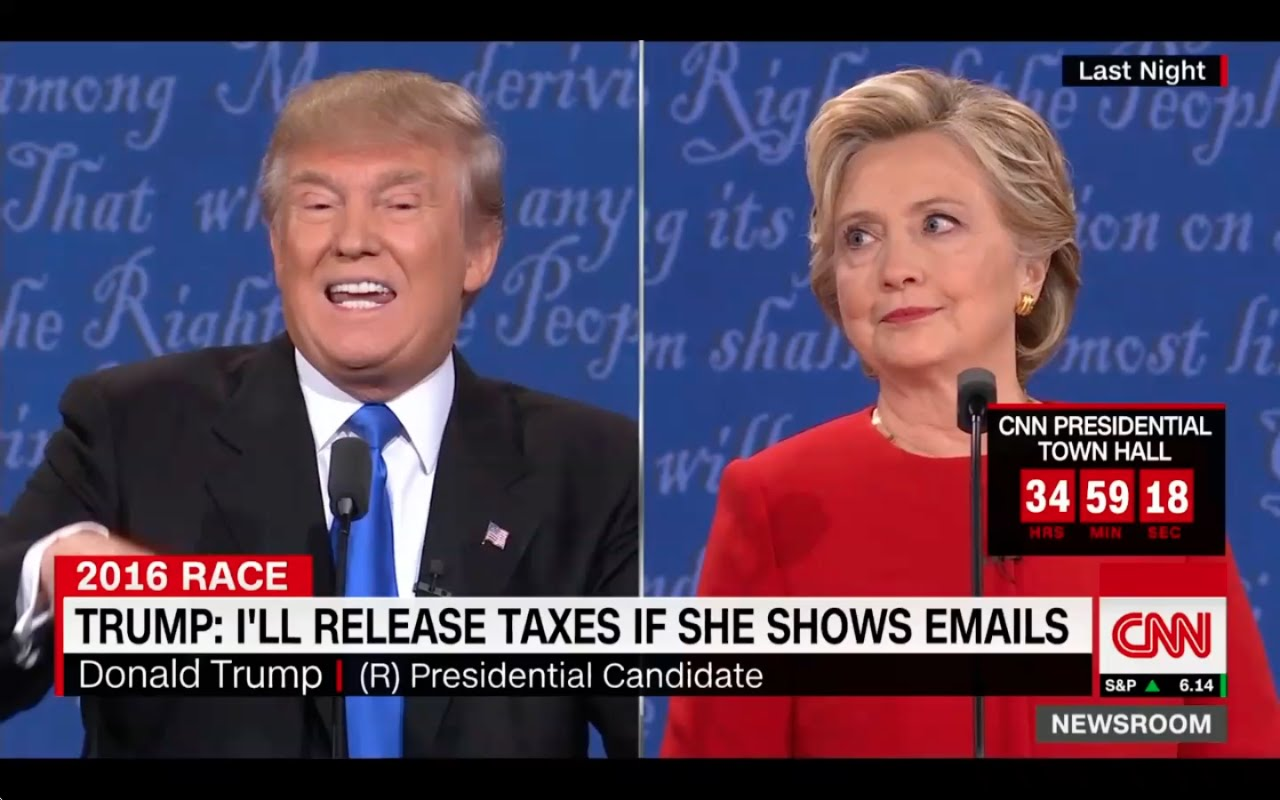 Donald Trump and Hillary Clinton Clash at First Debate! 9/27/16 4