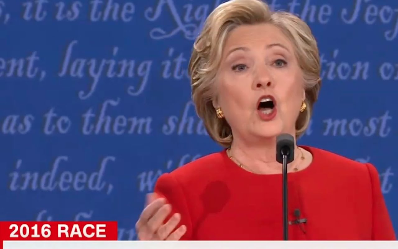 Hillary Wore RED to Appear Strong! Decoding Trump and Clinton Debate 9/27/16 4