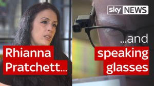 SWIPE | Helping blind people 'read' & meeting video games writer Rhianna Pratchett 9