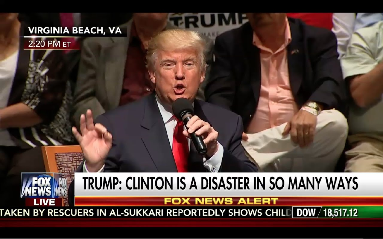Donald Trump Rally Virginia Beach 9/6/16: Hillary Clinton is a Disaster! 6