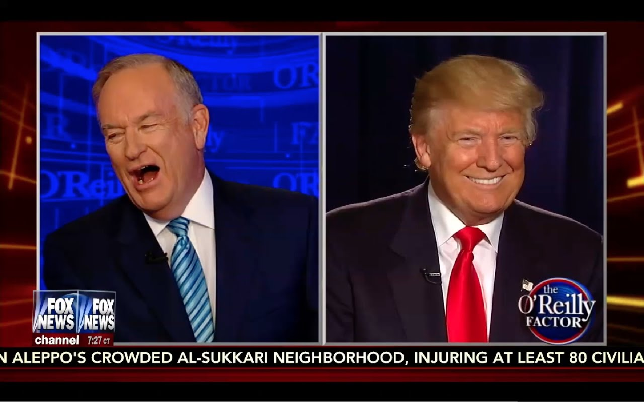 Donald Trump Interview: O'Reilly Factor 9/6/16 4