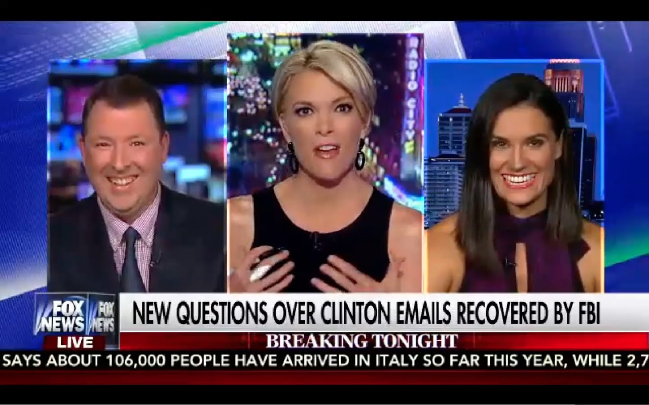 Kelly File 8/30/16 FULL: 30 Benghazi Emails Recovered by FBI, Hillary Screwed! 1