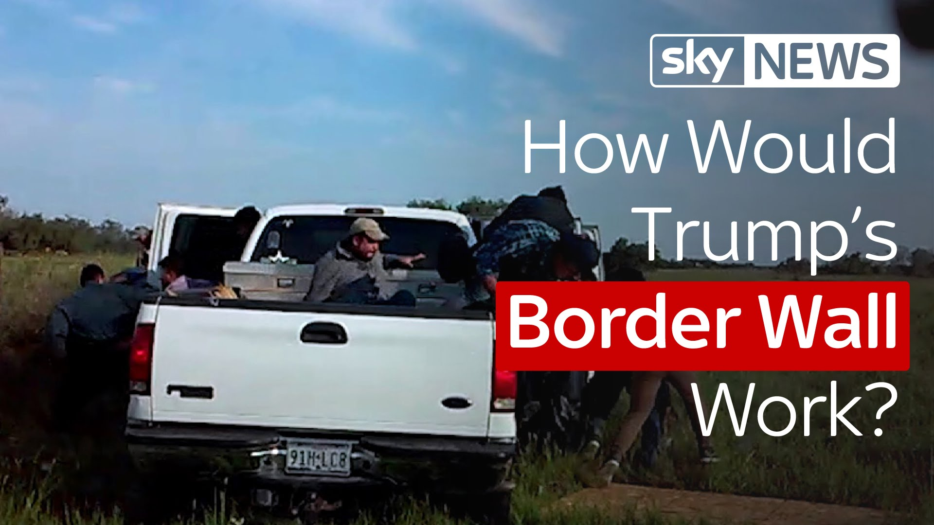 How Would Donald Trump's Proposed Wall With Mexico Actually Work? 8