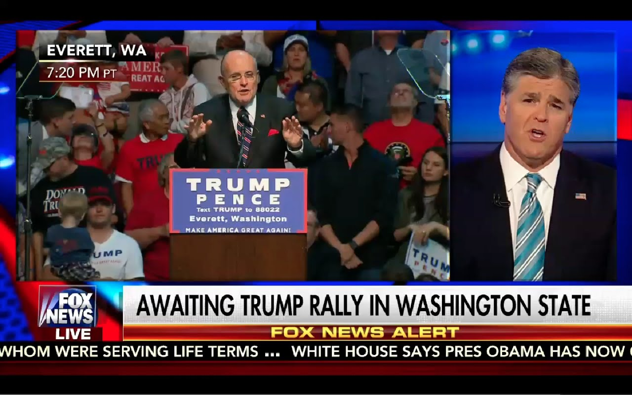 Hannity 8/30/16 FULL: Donald Trump Rally Everett Washington 1