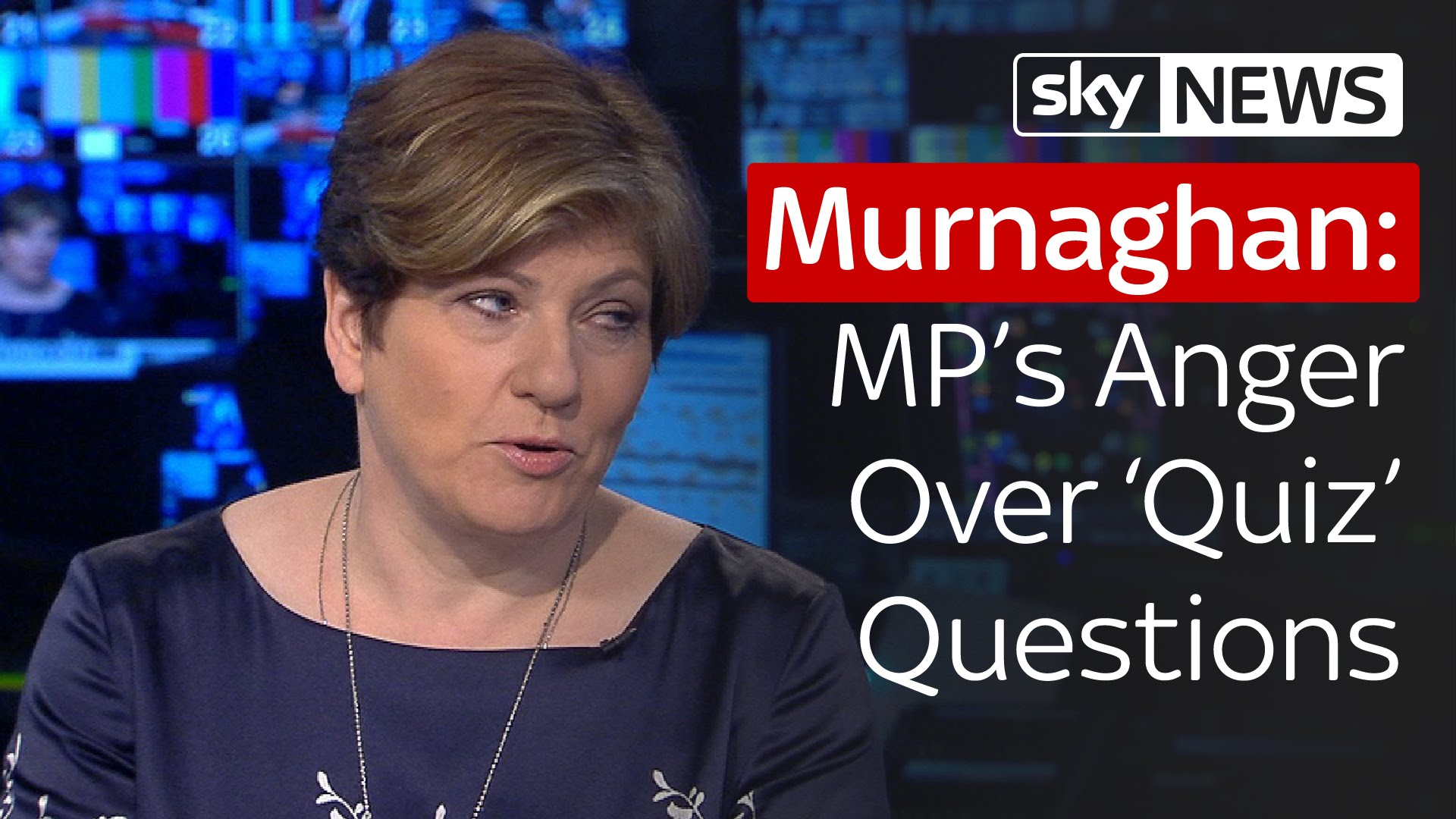 Emily Thornberry With Dermot Murnaghan: MP's Anger At 'Quiz' Questions 3