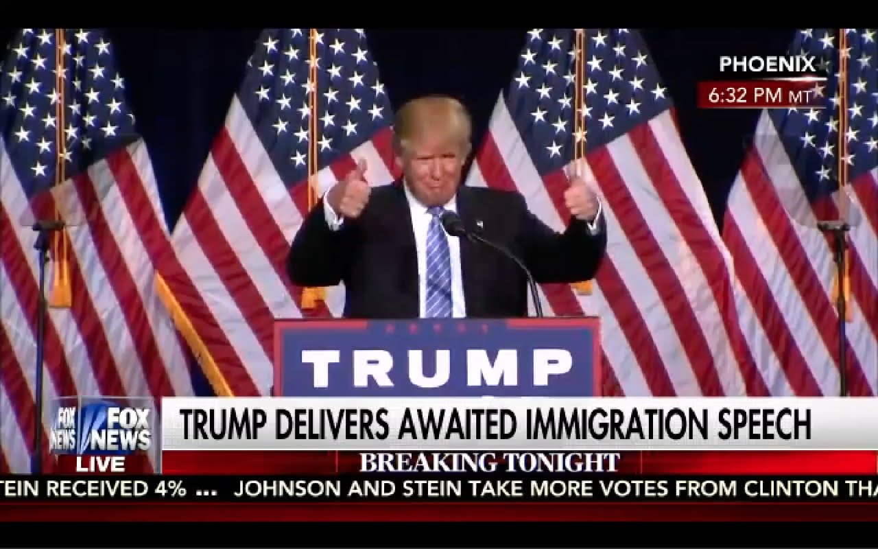 Donald Trump Immigration Speech 8/31/16 10