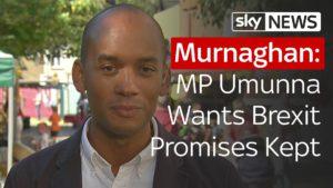 Labour MP Umunna Wants Brexit Promises Kept 3