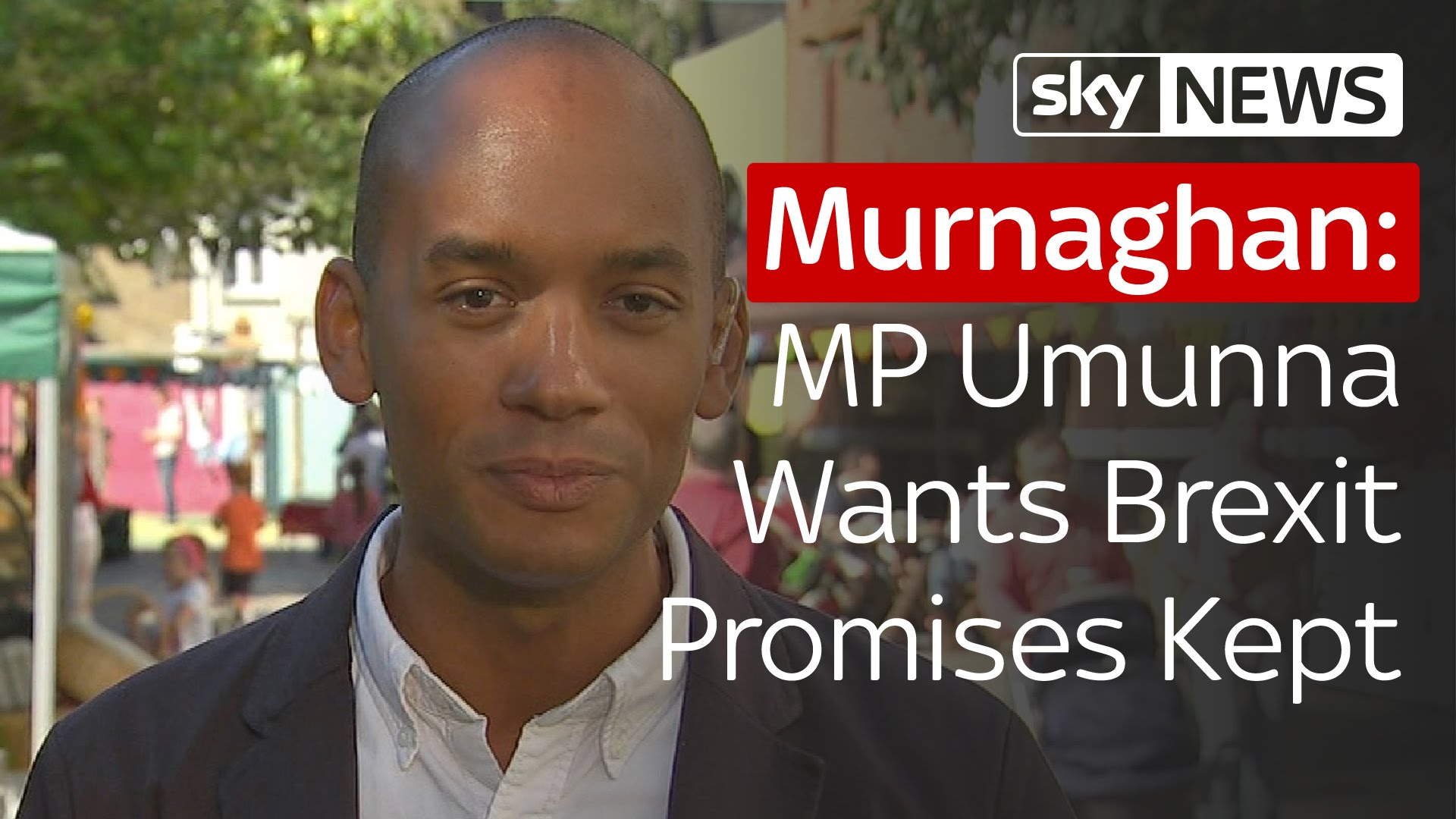 Labour MP Umunna Wants Brexit Promises Kept 9