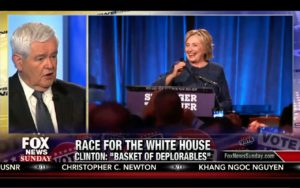 Fox News Sunday 9/11/16 Full: Hillary Deplorable Comment, Newt Gingrich, Russia & Putin 2