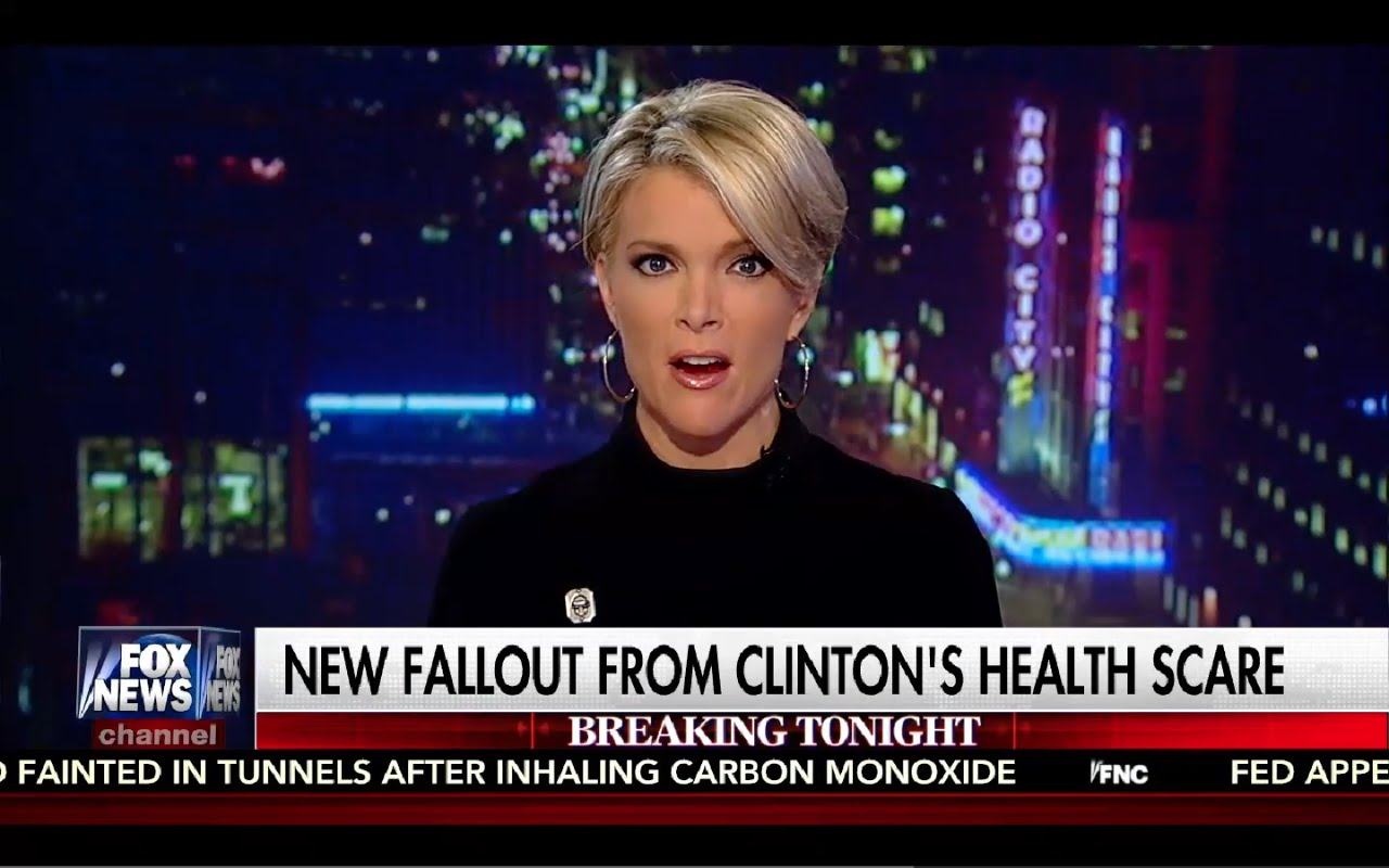 Kelly File 9/12/16 Full: Democrats Panicking Over Hillary's Health! NEW FBI Subpoena for Clinton! 4