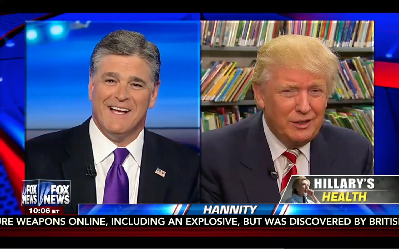 Donald Trump Interview: Hannity 9/13/16 5