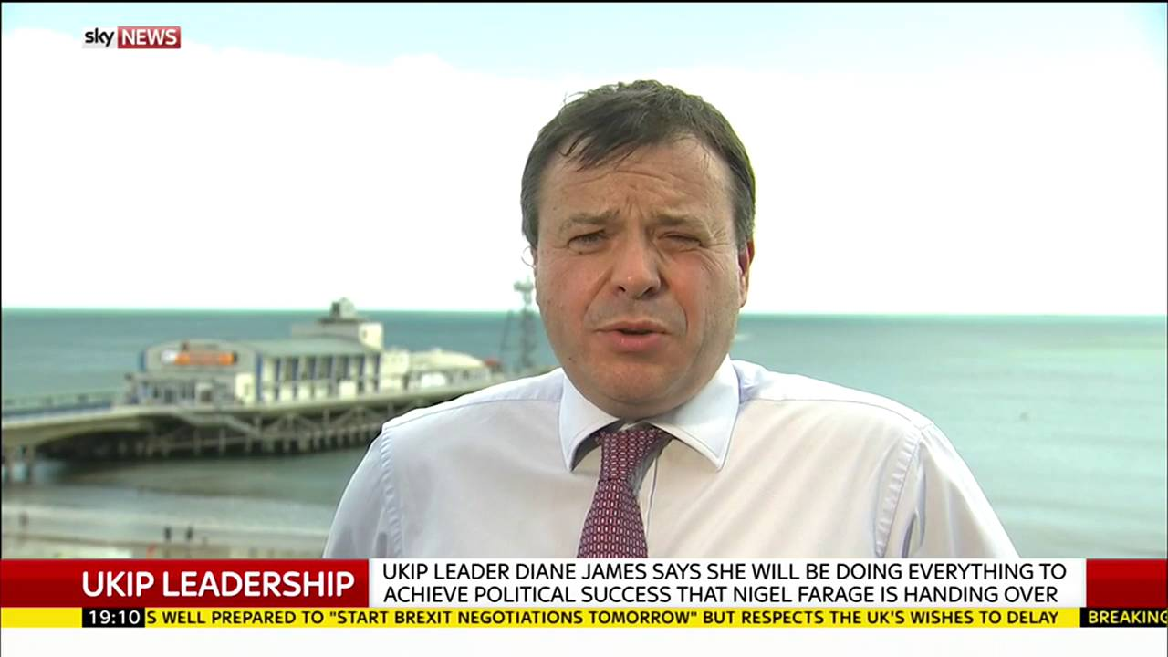UKIP donor Arron Banks on the party's new leader 3