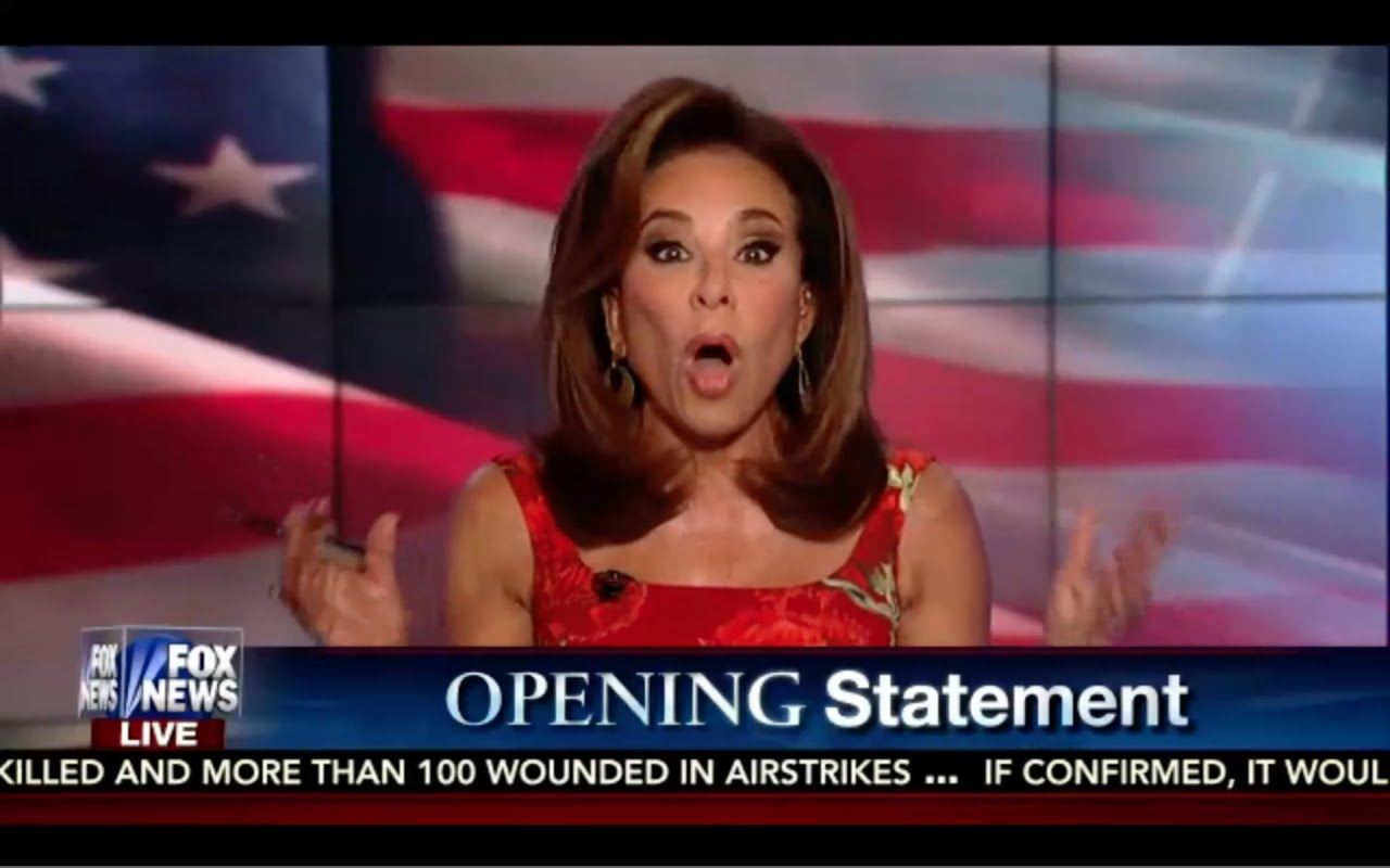 Hillary is a Pathetic, Lying, Hypocritical Racist! Judge Jeanine Opening statement 9/17/16 5