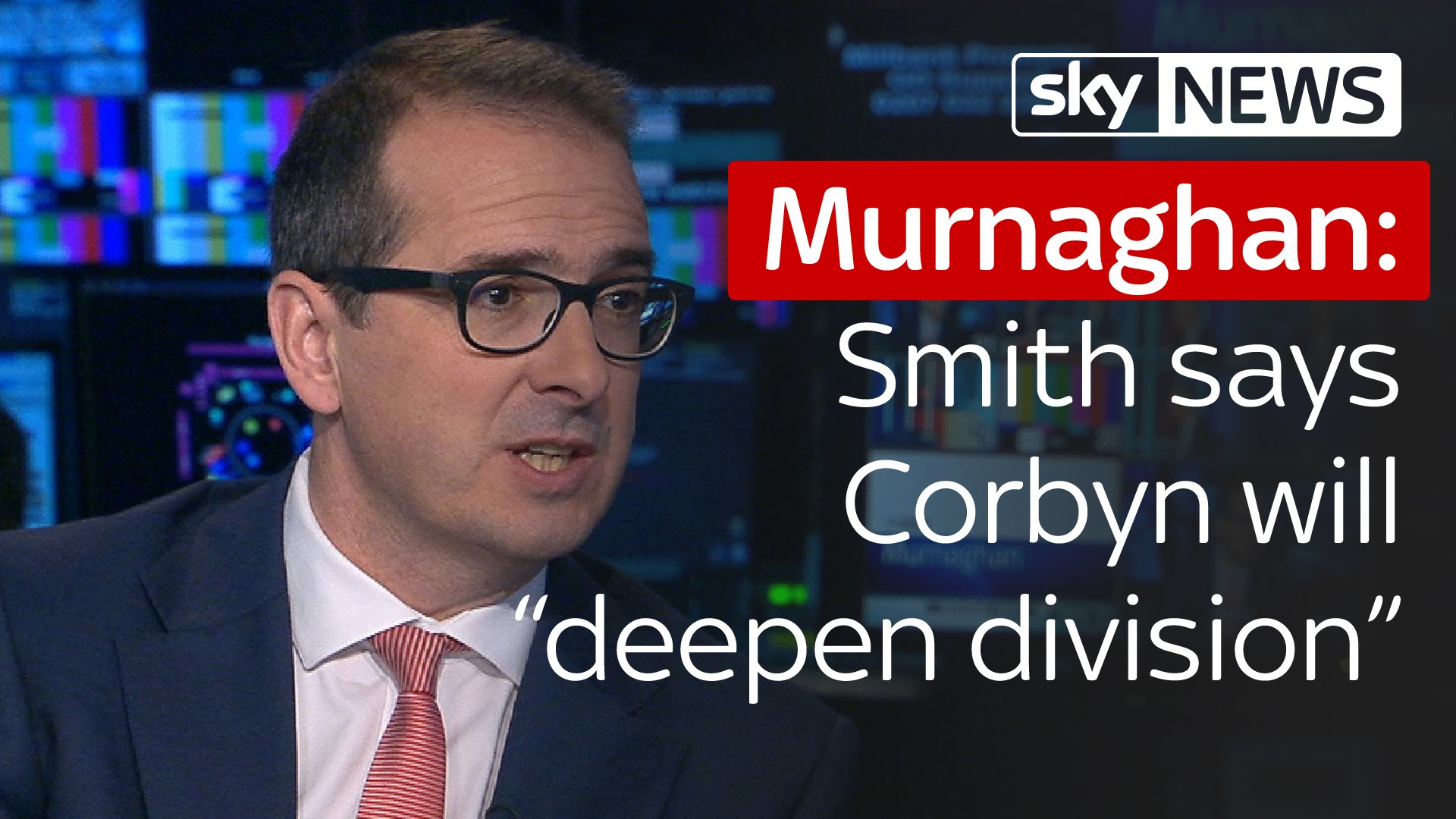 "Murnaghan | Owen Smith says Jeremy Corbyn will ""deepen divisions"" in Labour 6"