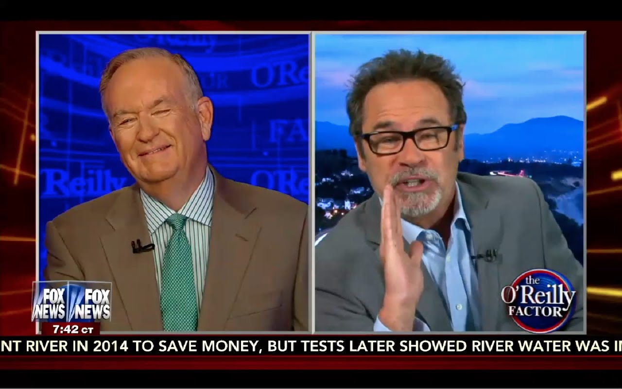 Dennis Miller says Hillary is PROTECTED by FBI, DOJ, IRS! O'Reilly Factor 9/14/16 6