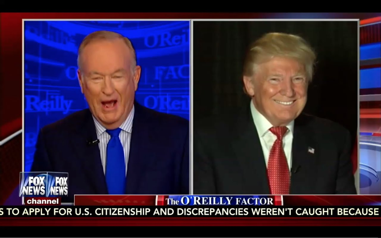 Donald Trump Interview: O'Reilly Factor 9/19/16 8