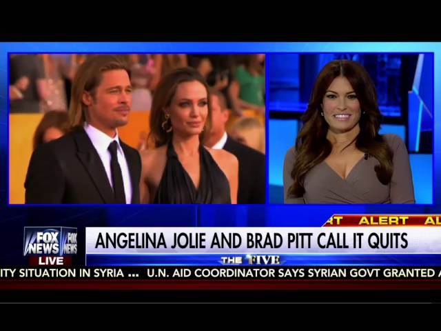 Brad Pitt & Angelina Jolie Divorce: The Five Fox News 9/20/16 8