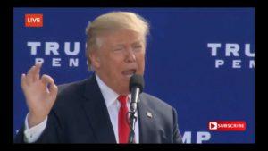 Donald Trump Talks Wikileaks Email Dump & Hillary Crimes! 10/15/16 4