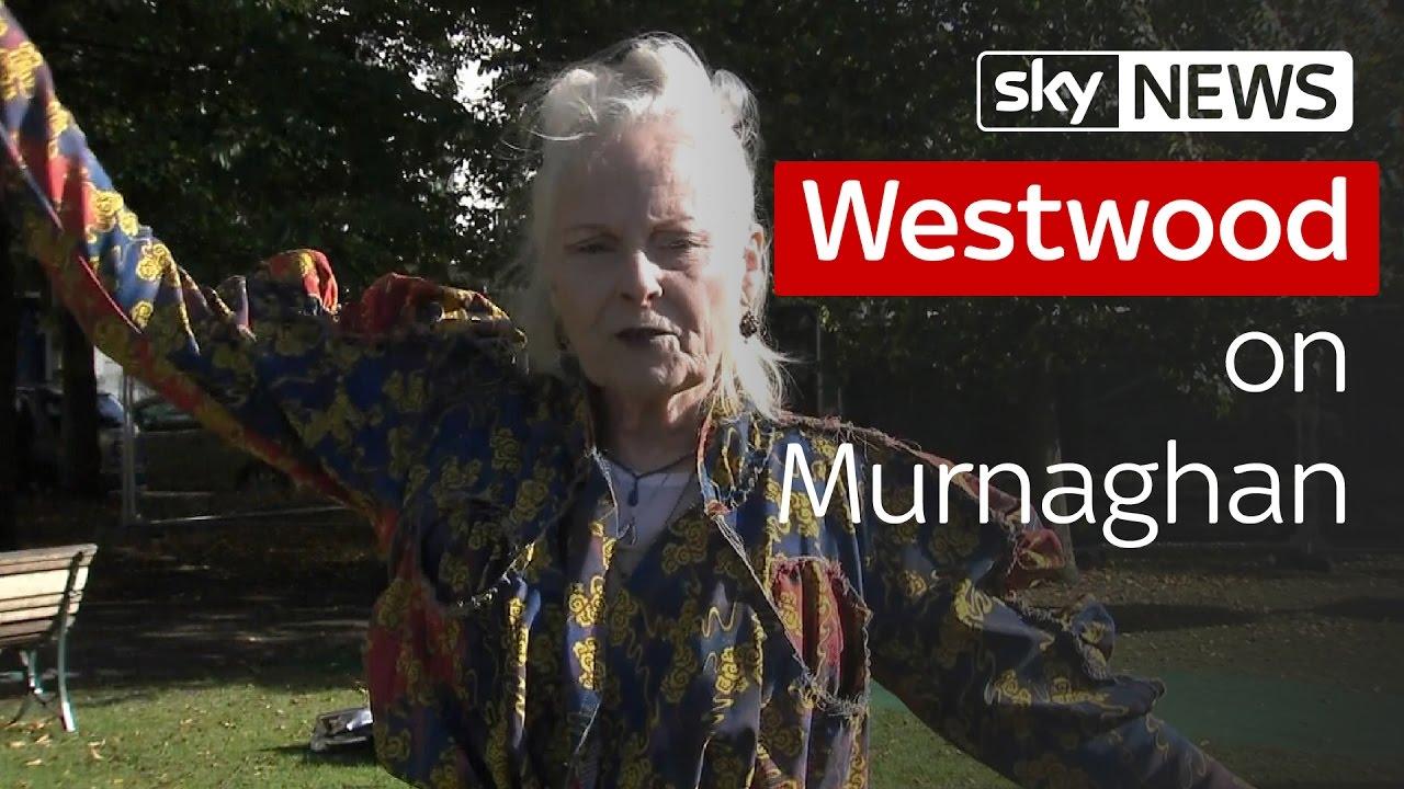 Vivienne Westwood on Murnaghan 8